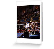 Blue Horizon Boxers 6 Greeting Card