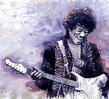 Jazz Rock Guitarist Jimi Hendrix variant by Yuriy Shevchuk