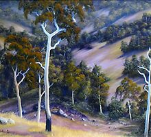 Sloping Hills by John Cocoris