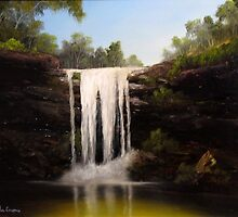 Waterfall by John Cocoris