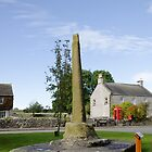 The Village Cross, Monyash by Rod Johnson