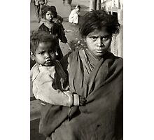 Life Below Poverty Line..... Photographic Print