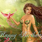 Card Happy Birthday! by Alena Lazareva