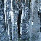 Icicles at Beinn-y-Phott by petertucker