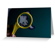 Magnify Greeting Card