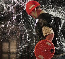Waterballoon Warrior by sjames