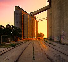 Cement works 1 - Geelong by Hans Kawitzki