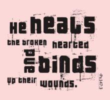 He heals! by Silvia Mele
