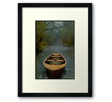The Old Lake Framed Print