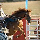 Hold on Tight - Cranbourne Rodeo 2010 by James Millward