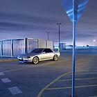 Silver Nissan R32 Skyline GTR #2 by John Jovic