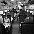 In the train by Boris Vigaud