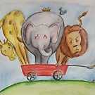 A Wagon Full Of Fun by Rosie Harriott