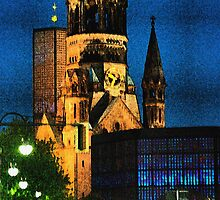 Kaiser Wilhelm Memorial Church Berlin by fantastisch2003