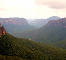 Govetts - Govetts Leap, Blue Mountains World Heritage Area - The HDR Experience by Philip Johnson