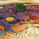 Sand Mandala @ Rainbow Serpent Festival 2010 by OZDOOF