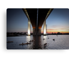 Under the Bolte Canvas Print