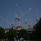 Constructing - London, England by Allen Lucas
