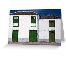 Santiago del Teide Greeting Card