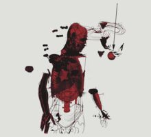 love and gravity - black and red version by frederic levy-hadida