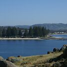 Victor Harbor view from Granite Island by BronReid