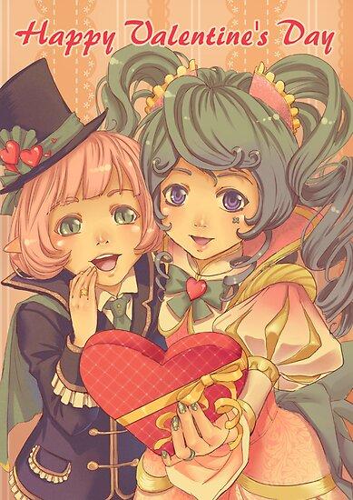 Happy Valentine's Day  by Tsuyoshi