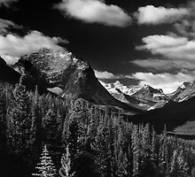 Mountain View, Tonquin Valley, Jasper National Park, Alberta, Canada by hinomaru