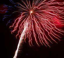 Deer Park Golf and County Club Fireworks 09 by Sara-Jane  Keeley