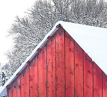Peak of the Red Barn by © Betty E Duncan ~ Blue Mountain Blessings Photography
