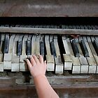 Creepy Piano Baby by Bethany Helzer