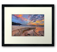 Sunrise at Sunshine Beach Framed Print