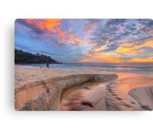 Sunrise at Sunshine Beach Metal Print