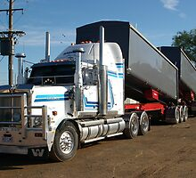 Western Star Truck-(B-Double), Tamworth, NSW by Craig Stronner