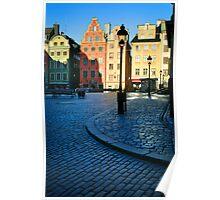 Stockholm Stortorget Square Poster