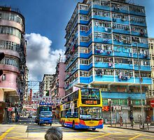 Nam Cheong Street - Sham Shui Po the HDR Touch by HKart