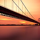 Rhine River Bridge by Joop Snijder
