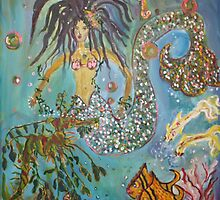Mermaid for Rosebella by eoconnor