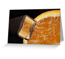Chocolate Orange Greeting Card