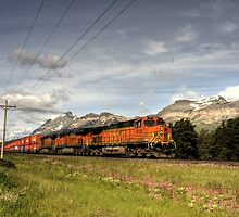 Glacier Freight by Terence Russell