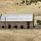 Old shearing shed at 'Rapid Bay' Sth Coast, Sth. Australia. by Rita Blom