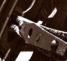 Rusty Wheel by Scott Pounsett