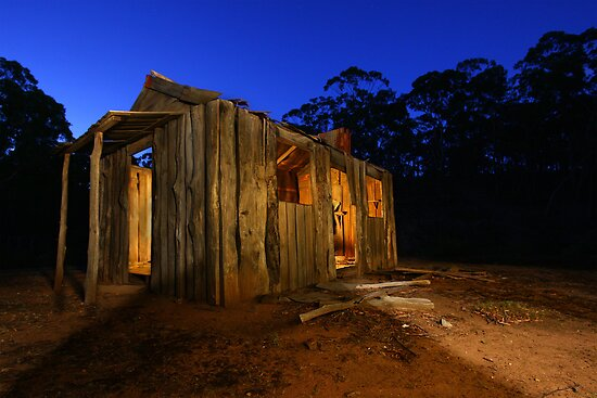 Lights are on but no one's home! by David  Hibberd