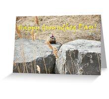 Happy Groundhog Day! Greeting Card