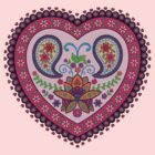 Decorative India Style Heart by shantitees