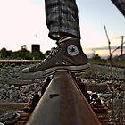 Converse crossing trail by Ivan Litovski