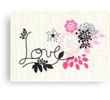 this little love Canvas Print