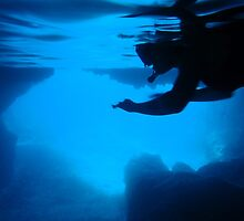 Blue Cave diving Vanuatu 2 by frenzix