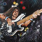 IRON MAIDEN - Steve Harris 'The Trooper' by Greg Hart