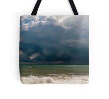 Receding storm Tote Bag