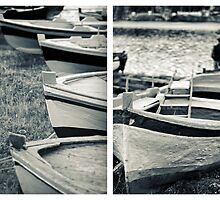 An old man's boats by Silvia Ganora